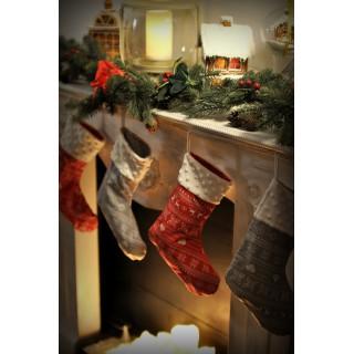 Skarpeta świąteczna (produkt charytatywny)